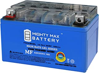 Mighty Max Battery YTX7A-BS Gel 12V 6AH Battery for Scooter KYMCO People 150 150CC 09 Brand Product