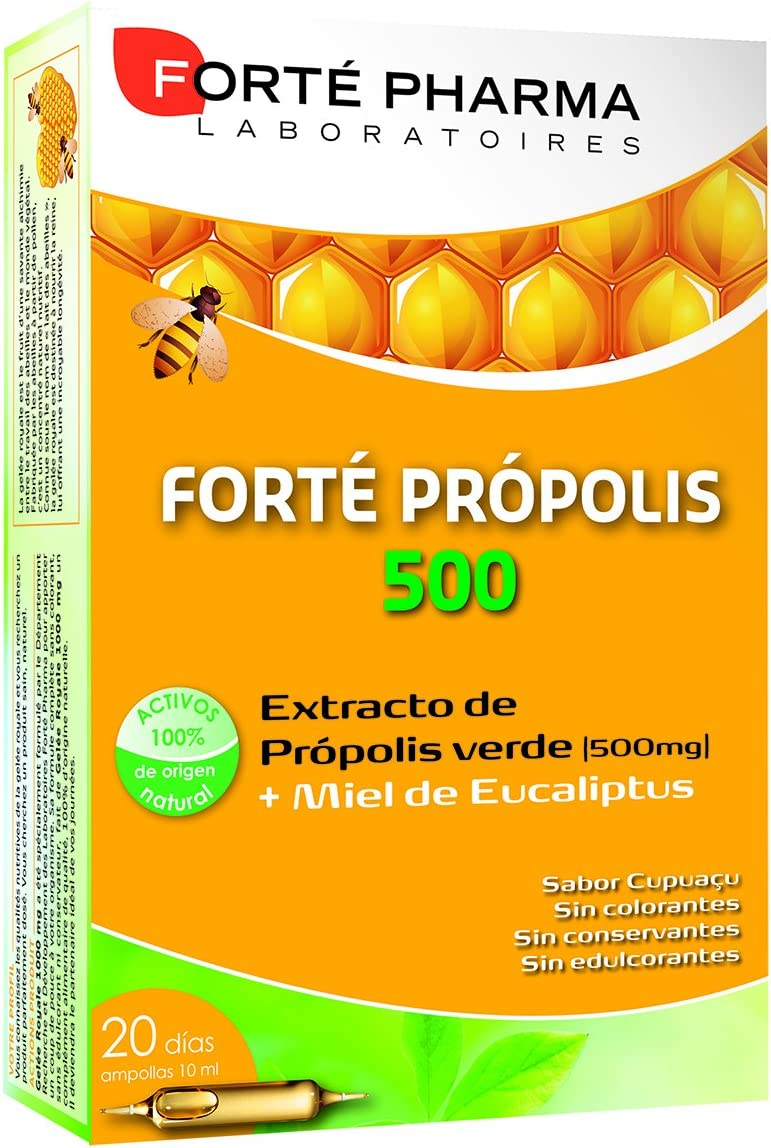 Forte Pharma Iberica Forté Propolis 500 Complemento Alimenticio - 20 Unidades