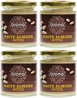 (4 PACK) - Biona - Organic White Almond Butter   170g   4 PACK BUNDLE