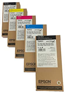 Epson Ultrachrome 350 mL Ink Set for SureColor T-Series Printers