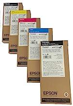 EpsonT3000, T3720, T5000, T5720, T7000, T7270 Ultrachrome 350 mL Ink Set for SureColor T-Series Printers, Black