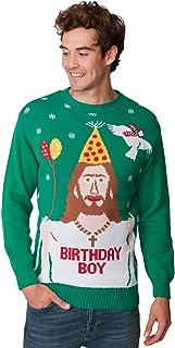 New Camp Ltd New Unisex Mens Womens Jumper Christmas Xmas Novelty Retro Fairisle Santa Party Sweater Jumpers Jesus Birthda...
