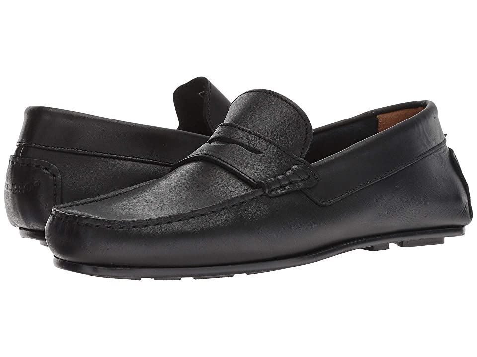 Sebago Tirso Penny (Black Leather) Men