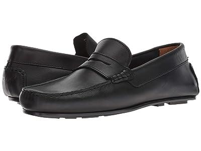 Sebago Tirso Penny (Black Leather) Men