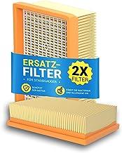 Płaski filtr harmonijkowy 2 sztuki zamiennik do Kärcher 2.863-005.0 WD4 WD5 WD6 MV4 MV5 MV6 Hepa filtr powietrza wylotoweg...