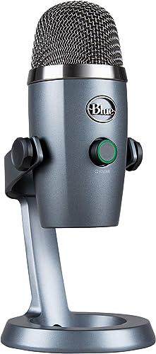 Blue Microphones Yeti Nano USB Microphone pour Enregistrement et Streaming, Gris Bleu
