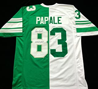 Vince Papale Philadelphia Eagles Signed Autograph Combo Jersey JSA COA