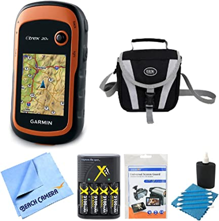 Garmin 010-01508-00 - eTrex 20x Handheld GPS Battery Bundle includes eTrex 20x