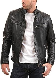 جاكيت رجالي من جلد الخراف الأصلي ENZO من Urban Leather Factory
