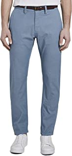 Tom Tailor Men's Washed Structure Chino Pants