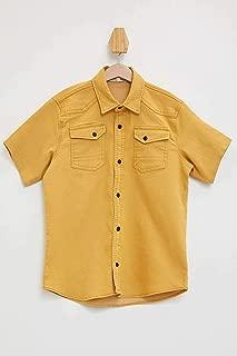 DeFacto İki Cepli Kısa Kollu Gömlek