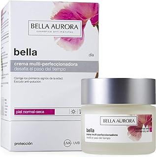 Bella Aurora Bella Crema Facial Día Hidratante Mujer Anti-Edad para Piel Normal o Seca Tratamiento para la Cara Anti-Manch...