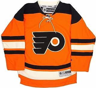 Reebok Philadelphia Flyers NHL Youth Orange Official Alternate 3rd Premier Jersey