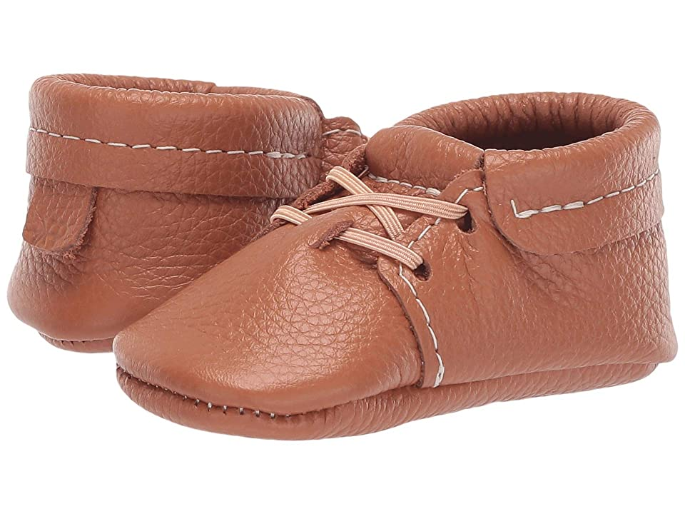 Freshly Picked Soft Sole Oxfords Classy Gents (Infant/Toddler) (Walnut) Boys Shoes