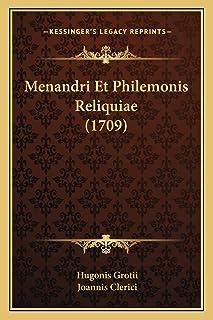 Menandri Et Philemonis Reliquiae (1709)