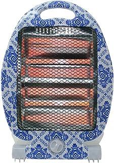 Calentador de Radiador de Cuarzo 400 800W Infrarrojo Halógeno - Motivo de Loza de Barro