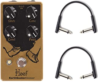 Earthquaker Devices Hoof Fuzz v2 w/RockBoard Flat Patch Cables Bundle
