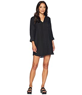 Solid Two-Pocket Dress
