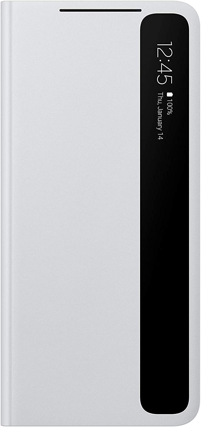 Samsung Galaxy S21 Ultra Case, S-View Flip Cover - Gray (US Version)