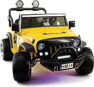 yellow jeep power wheels