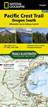 Pacific Crest Trail, Oregon South [Willamette Pass to Siskiyou Summit] (National Geographic Topographic Map Guide (1005))