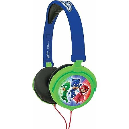LEXIBOOK-Pijamasks-Auriculares Irrompibles, Cascos Audio, a ...