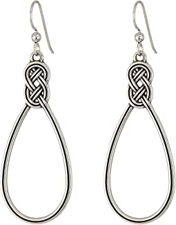 Interlok Wire Drop Earrings