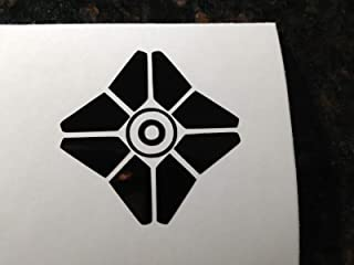 MAF - Destiny 2 Ghost Eyes UP5 INCHES Black Vinyl Decal Sticker for Cars LAPTOPS Walls Windows Toolbox Gift