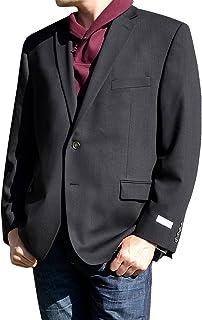 (カルバンクライン) CalvinKlein メンズ 2ボタン ブレザー ジャケット 紺 黒 ビジネス カジュアル [並行輸入品]