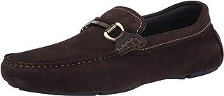 حذاء رجالي مسطح من Ted Baker بدون كعب بلون بني، 11