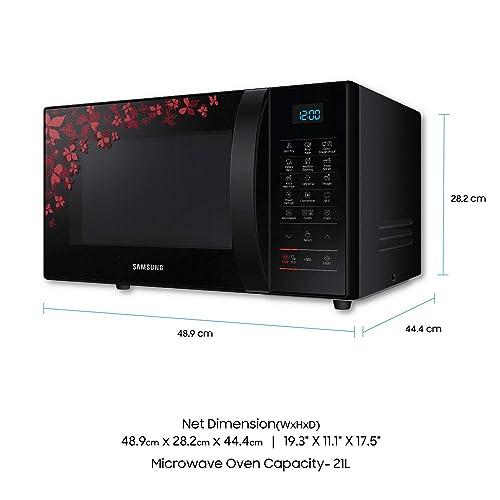 Samsung 21 L Convection Microwave Oven (CE77JD-SB/XTL, Black)
