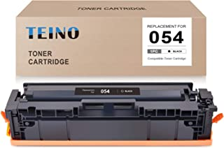 TEINO Compatible Toner Cartridge Replacement for Canon 054 CRG-054 use with Canon imageCLASS MF644Cdw MF642Cdw LBP622Cdw MF640C (Black, 1-Pack)