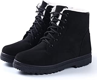 NOT100 Womens Waterproof Snow Boots Warm Comfy