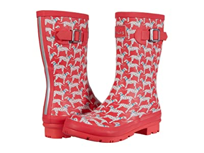 Joules Molly Welly (Red Dog) Women