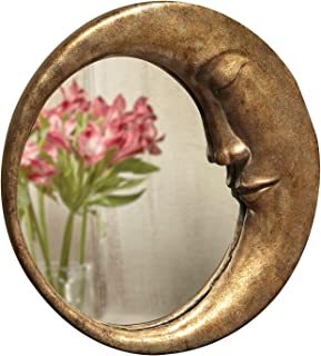 large crescent moon mirror