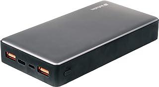 Verbatim Quick Charge 3.0 och USB-C powerbank – 20 000 mAh – 430 g – metalldesign – USB-C-laddare – powerbank USB 3.0 – fö...