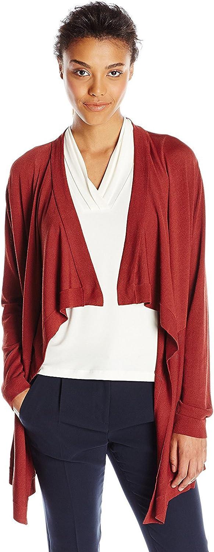 Anne Klein Women's Draped Cardigan Sweater