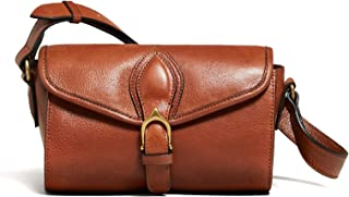 Massimo Dutti Women Leather bowling bag with buckle 6924/615