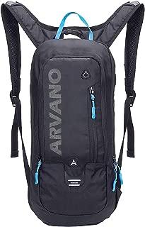 Arvano Mountain Bike Backpack Cycling Backpack - 6L Breathable Hydration Pack Biking Backpack Lightweight Ski Rucksack, Bicycle Backpack for Running Biking Skiing Fits Men Women (NO Water Bladder)