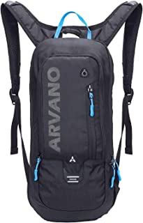 Arvano Mountain Bike Backpack Cycling Backpack - 6L Breathable Hydration Pack Biking Backpack Lightweight Ski Rucksack, Bicycle Backpack for Running Biking Skiing Fits Men Women (NO Water Bladder)