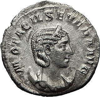 247 IT OTACILIA SEVERA wife of Philip I 247AD Rome AR An coin Good