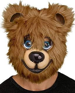 Furry Bear Mask One Size
