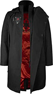 291e16b5dc Musterbrand Star Wars Men Hooded Coat Sith Lord Black