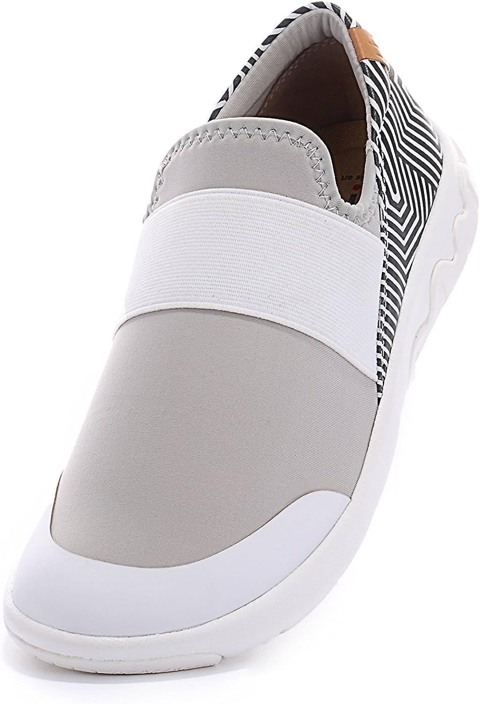 UIN UIN UIN Woherrar Zaans Comfort Microfiber Mode skor vit  stödja grossistförsäljning