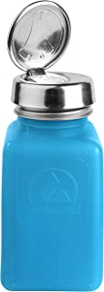 Bottle, One-Touch Pump, 6 oz, Blue