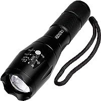 LED Flashlights - RockBirds Portable Ultra Bright Handheld LED Flashlight with Adjustable Focus and 5 Light Modes (1 PACK)