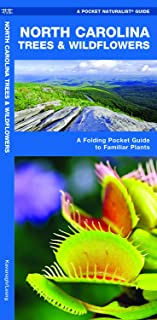 North Carolina Trees & Wildflowers: A Folding Pocket Guide to Familiar Plants (Wildlife and Nature Identification)