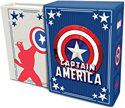 Marvel Comics: Captain America (Tiny Book): Inspirational Quotes From the First Avenger | Fits in the Palm of Your Hand | ...