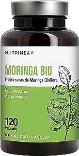 Moringa Oleifera Bio 120 Cápsulas   Más Vitamina C que las