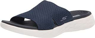 Skechers ON-THE-GO 600 STRETCH KNIT SLIDE womens Slide Sandal